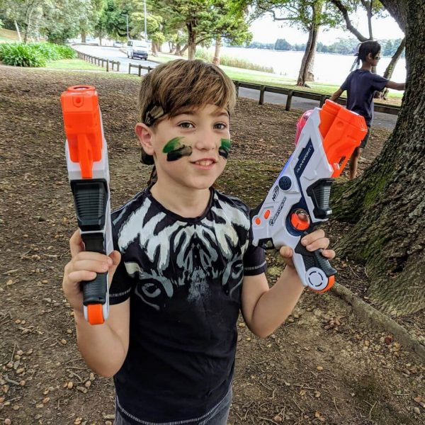 Children Paying Laser Tag Guns | Copyright @lasertaghire