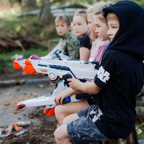 Children Paying Laser Tag Guns | Copyrights Laser Tag Hire